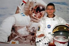 Astronaut-in-Ausstellung