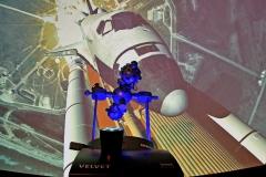 Planetarium-in-Betrieb